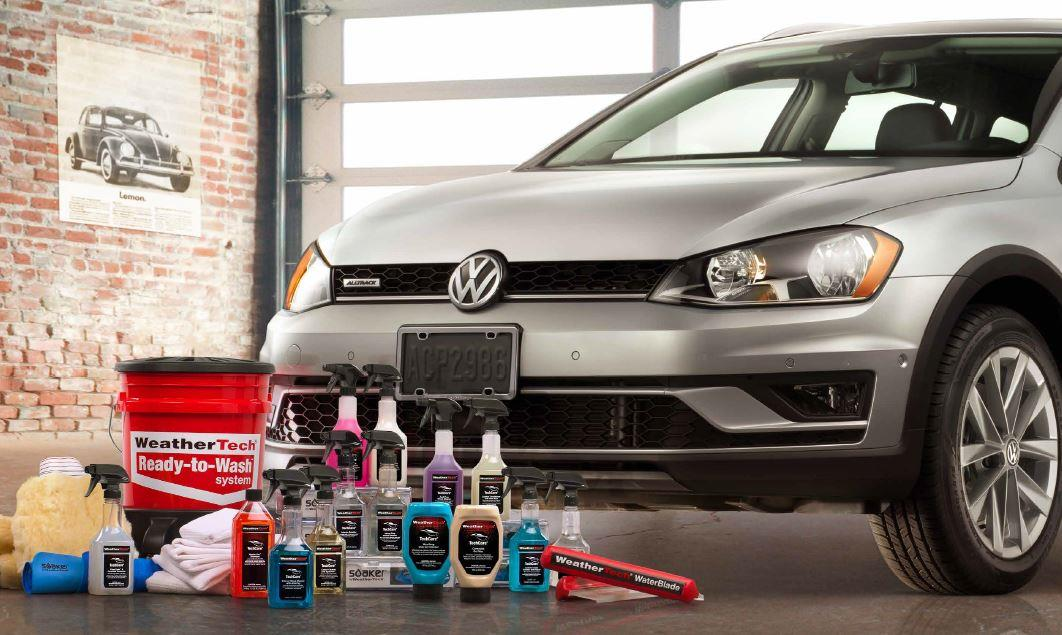 Diagram WeatherTech® TechCare® Launch Package for your Volkswagen Cross Sport